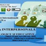 {:ro}Comunicarea interpersonală{:}{:en}Interpersonal communication{:}