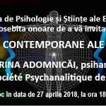 Conferinţa DIMENSIUNI CONTEMPORANE ALE PSIHANALIZEI
