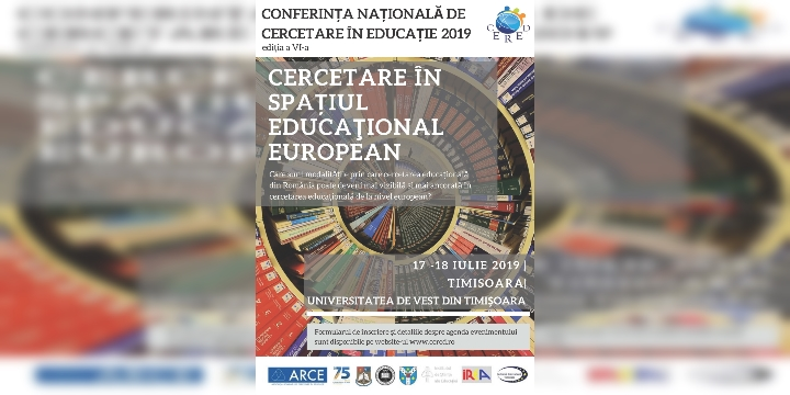 Conferința Națională de Cercetare în Educație, CERED VI