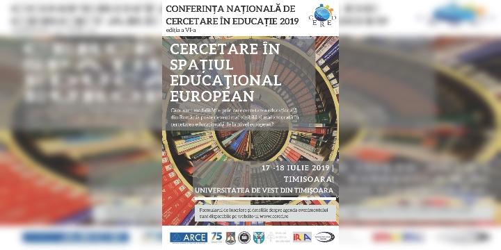 Conferința Națională de Cercetare în Educație, CERED VI