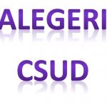 Alegeri CSUD – turul III