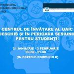 Centrul de învăţare al UAIC, deschis şi în sesiune