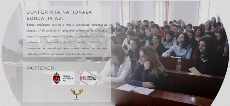 """Conferința Națională """"Educația Azi"""""""