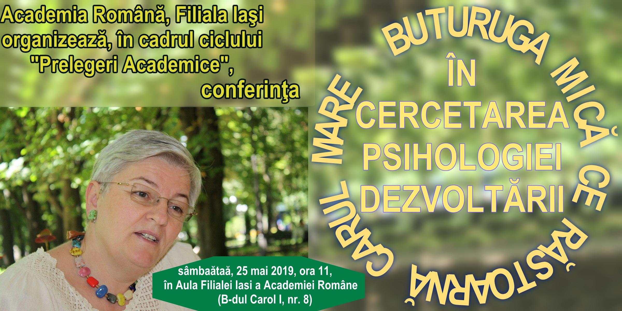 Conferinţa, prof. dr. Luminiţa Iacob