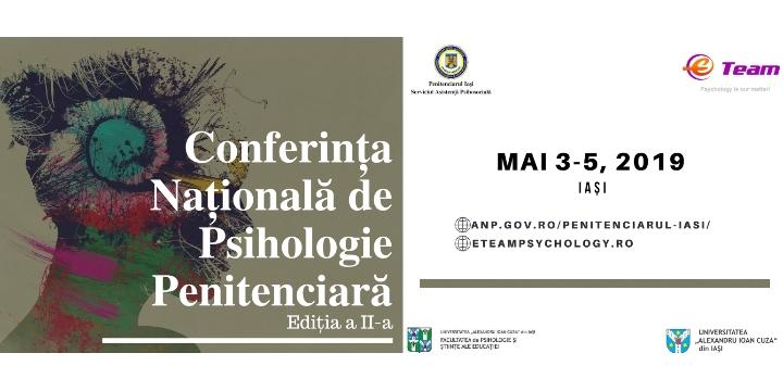Conferința Națională de Psihologie Penitenciară – Ediția a II-a