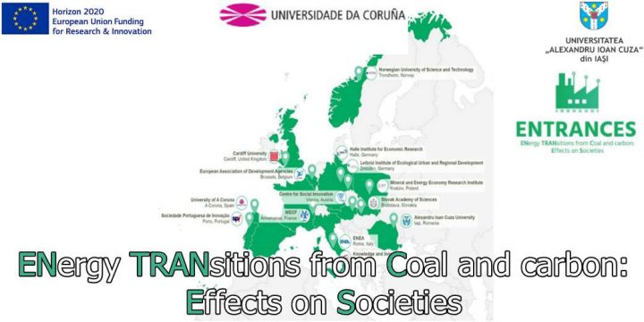 ENergy TRANsitions from Coal and carbon:  Effects on Societies (ENTRANCES)