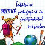 Întâlnire - Practică pedagogică în învăţământul preşcolar