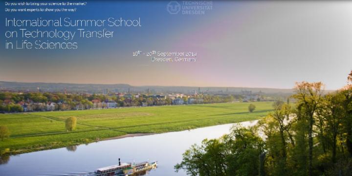 "Apelul pentru candidatura la ""7th International Summer School on Technology Transfer in Life Sciences"""