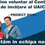 Devino voluntar al Centrului de învăţare al UAIC