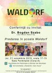 Conferinţă - Predarea în şcoala Waldorf