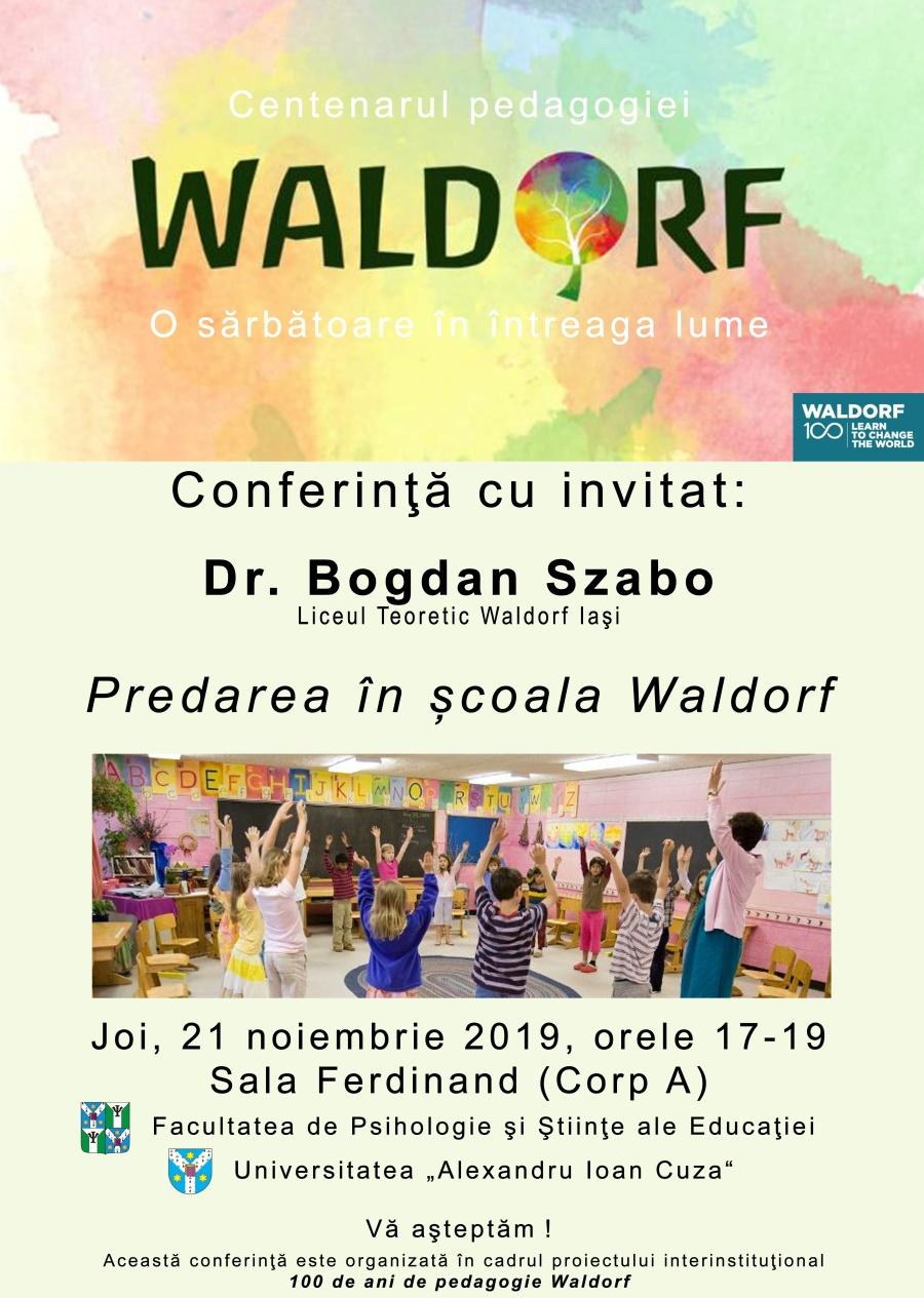 Conferinţă – Predarea în şcoala Waldorf