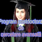 Admitere Program postdoctoral de cercetare avansată