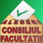 Alegeri pentru reprezentanți ai studenților în Consiliul Facultății