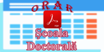Orar Şcoala Doctorală - An universitar 2019-2020